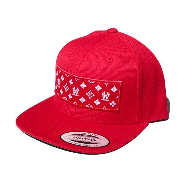 W NYC BOX LOGO MONOGRAM SNAPBACK CAP