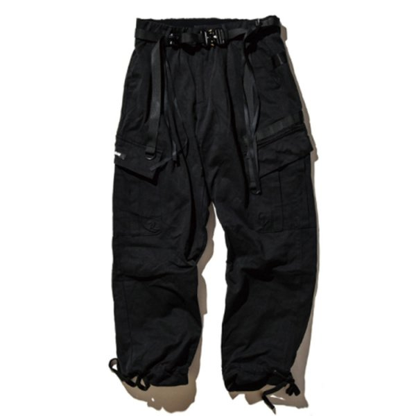 DUALISM TECHNICAL BELT CARGO PANTS