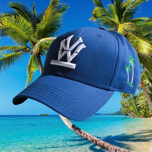 """W NYC HERITAGE LOGO """"PALM TREE"""" STRAPBACK CAP"""