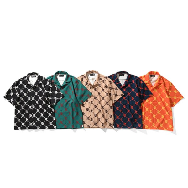 DUALISM DL MONOGRAM LOGO SHIRT