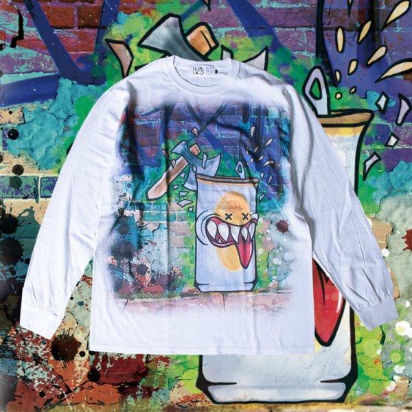 Hi BRAND GRAFFITI L/S TEE