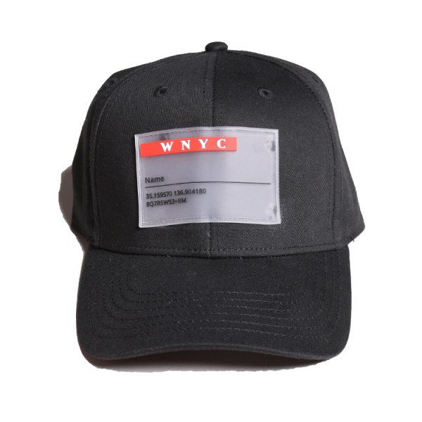 W NYC CLEAR WAPPEN STRAPBACK CAP