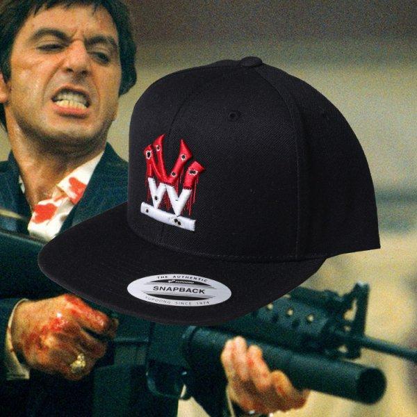 W NYC SCARFACE SNAPBACK CAP