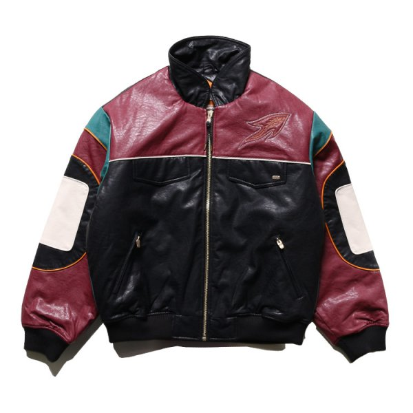 GRIMEY CALL OF YORE LEATHER JACKET