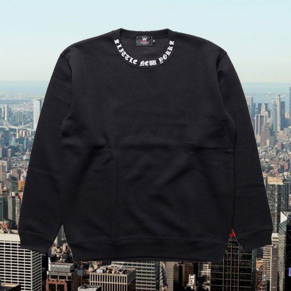 W NYC LITTLE NEWYORK LOGO CREWNECK SWEAT