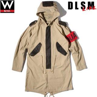DLSM(ディーエルエスエム) 腕章 付き スプリング モッズコート