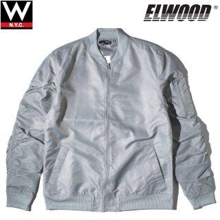 ELWOOD(エルウッド) ナイロン ボンバー ジャケット