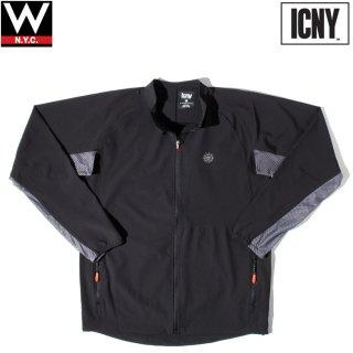 ICNY (アイシーエヌワイ) フェザーライト リフレクター ストレッチ ウインドブレーカー ジャケット