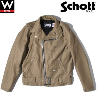 Schott(ショット) コットン ライダース