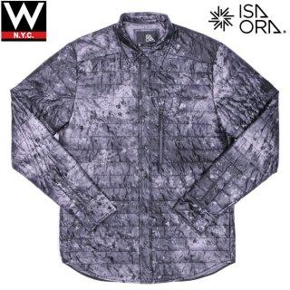 ISAORA(イサオラ) ナイロン 中綿入り 長袖 シャツ