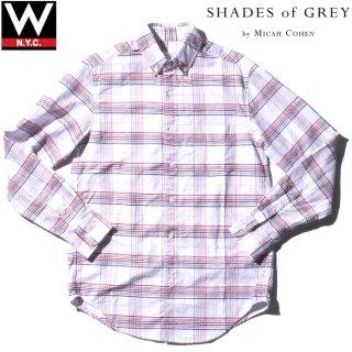 SHADES OF GREY(シェーズ オブ グレイ) チェック柄 長袖 シャツ