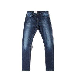 Nudie Jeans(ヌーディージーンズ) スキニーリン アーバン ネイビー デニムパンツ