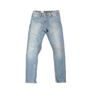 Nudie Jeans(ヌーディージーンズ) パイプ レッド デニムパンツ