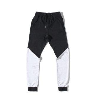 ZANEROBE(ゼンローブ) バイカラー スウェット ジョガー パンツ