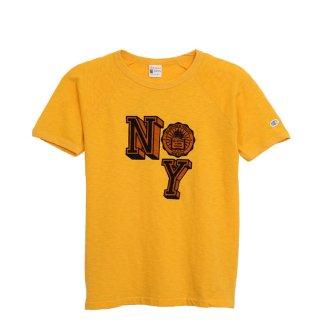 Champion(チャンピオン) ロチェスター チャンピオン ニューヨーク ロゴ ラグランスリーブ 半袖 Tシャツ