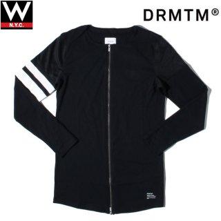 DRMTM(ドリームチーム) アイアム ツーウェイ ジップアップ 長袖 Tシャツ