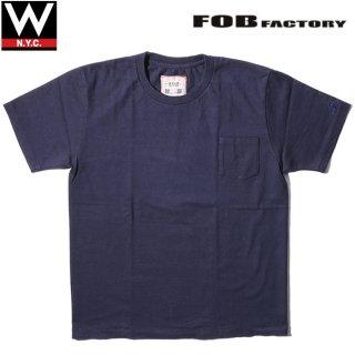 FOB FACTORY(エフオービー ファクトリー) ポケット 半袖 Tシャツ