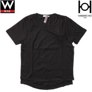 HAMAKI-HO(ハマキホ) レイヤード 半袖 Tシャツ