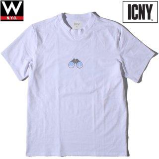 ICNY(アイシーエヌワイ) シー 3M リフレクター グラフィック Tシャツ
