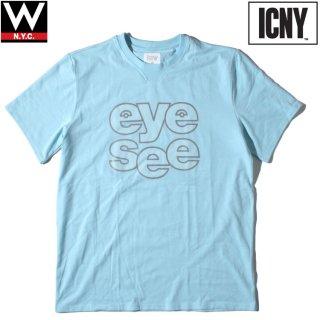 ICNY(アイシーエヌワイ) サウンドアウト 3M リフレクター グラフィック Tシャツ