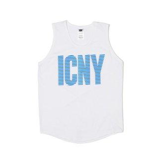 ICNY(アイシーエヌワイ) 3M リフレクター オリジナルロゴ タンクトップ