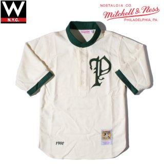 MITCHELL&NESS(ミッチェル&ネス) フィラデルフィア フィリーズ 1910年 ゲームシャツ 七分丈