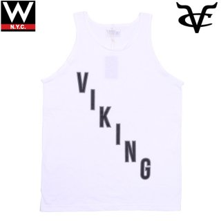 VIKING CRUZ(バイキングクルーズ) リフレクター プリント タンクトップ