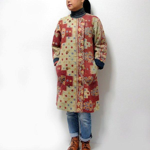 カンタ刺繍コート 01