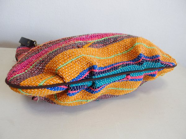 various shop ヴァリアスショップ インド裂き織りトートバッグ 607 A