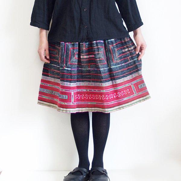 モン族 ミディアムスカート 781