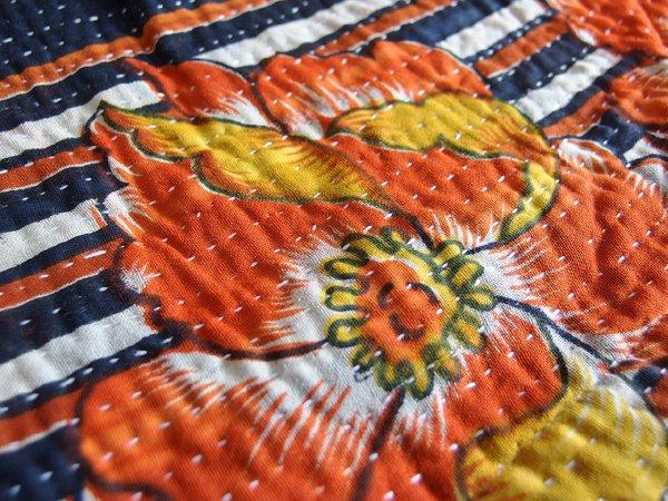 カンタ刺繍 ラリーキルト ワンピース