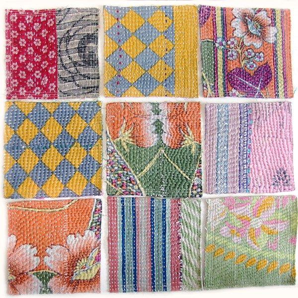 カンタ刺繍 コースター
