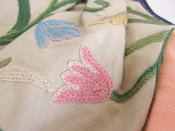 sisiグラニーバッグ 定番サイズ カシミール刺繍