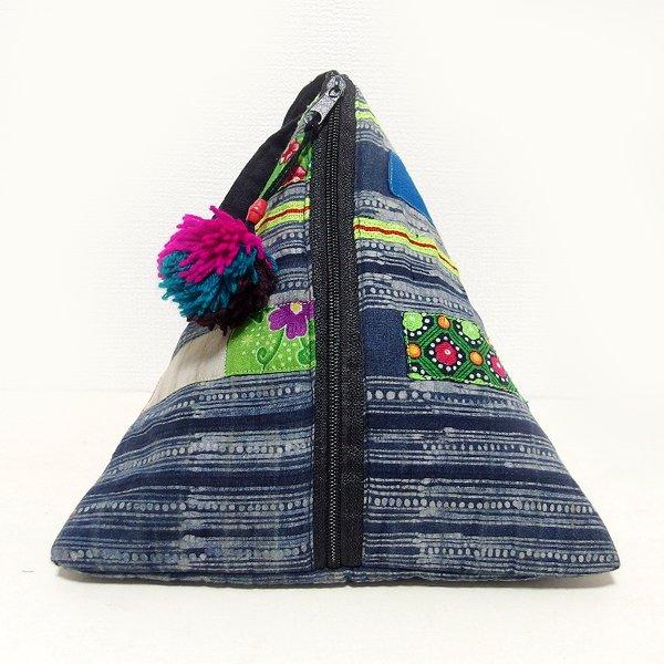 モン族 三角ポーチバッグ Mサイズ A
