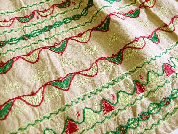 インド手刺繍スカート