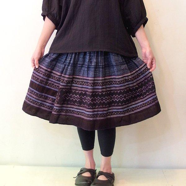 モン族 ミディアムスカート 820