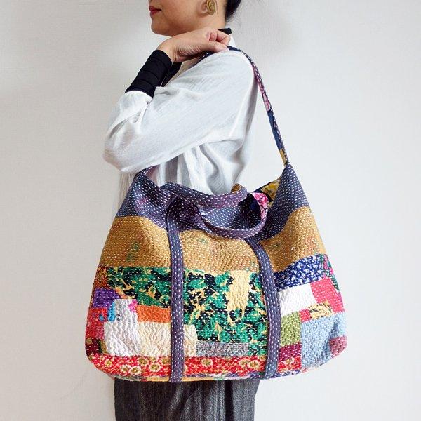various shop カンタ刺繍 2wayバッグ 912