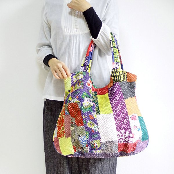 various shop カンタ刺繍 トートバッグ 913