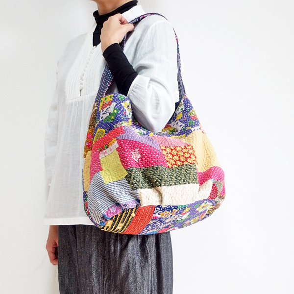 various shop カンタ刺繍 ショルダーバッグ 914