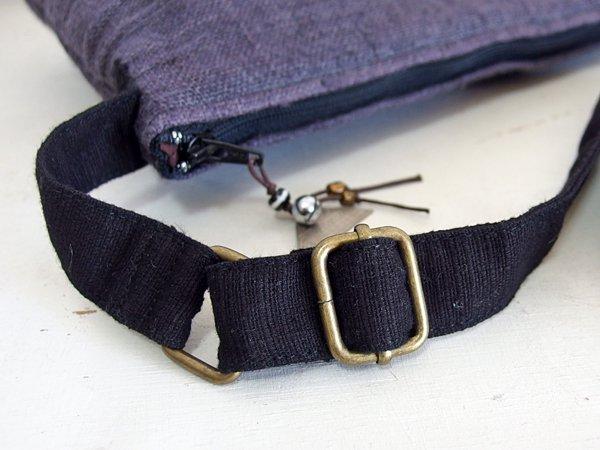 モン族 手刺繍 ポシェット