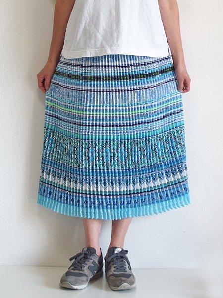 モン族  ミディアムスカート 822