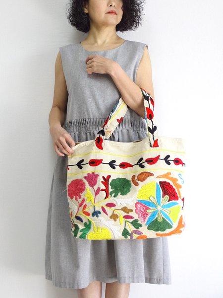 various shop ヴァリアスショップ スザンニ刺繍 スザニ刺繍 バッグ
