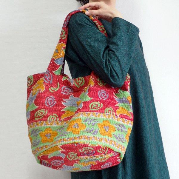 various shop カンタ刺繍 トートバッグ 920