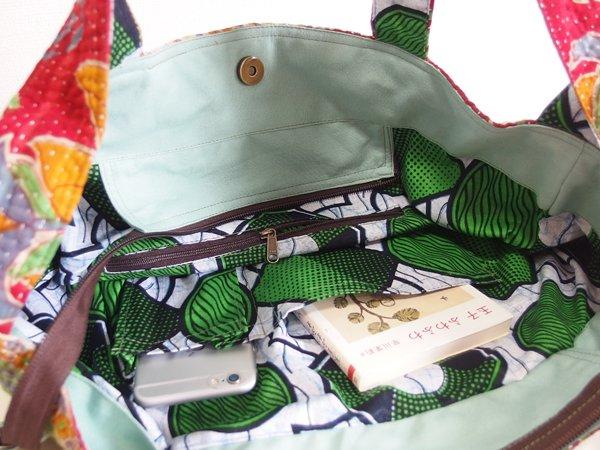 various shop ヴァリアスショップ カンタ刺繍 ラリーキルト バッグ