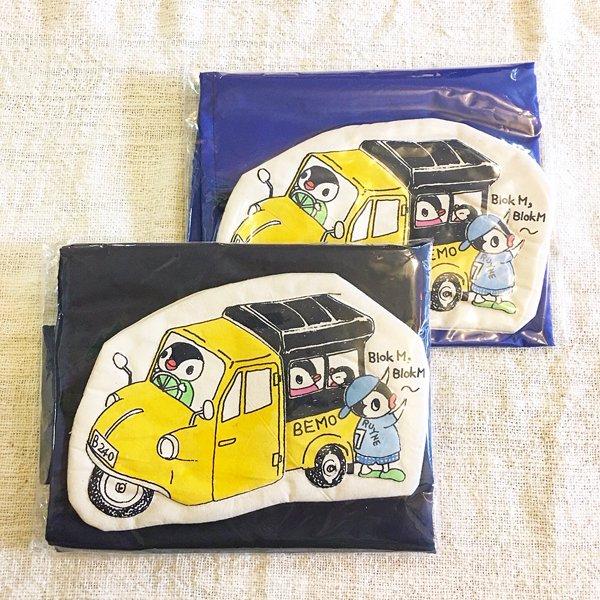 スタジオパチェ ペン子ちゃん 袋付きエコバッグLサイズ(ベモ) Studio Pace shopping bag size L