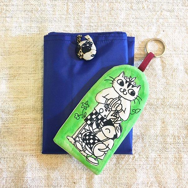 スタジオパチェ ペン子ちゃん 袋付きエコバッグSサイズ(バラガンジュール) Studio Pace shopping bag size S