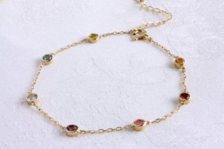 Rainbow color amulet bracelet