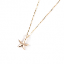 Starfish Necklace | K10YG