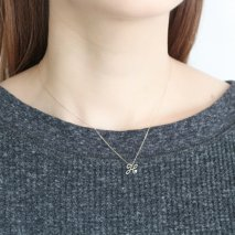 Initial Necklace【H】| K10YG