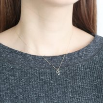 Initial Necklace【F】| K10YG